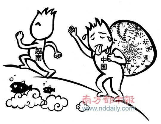 越南小朋友手绘画